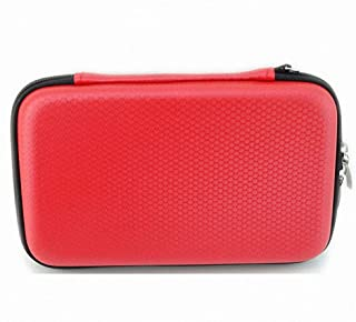 GUANHE Digital Gadget Cases Waterproof Memory Card Cases Electronics Accessories Cases Hard Drive Bags & Cases Used for External Hard Drive USB Flash Drives Power Banks (Red)