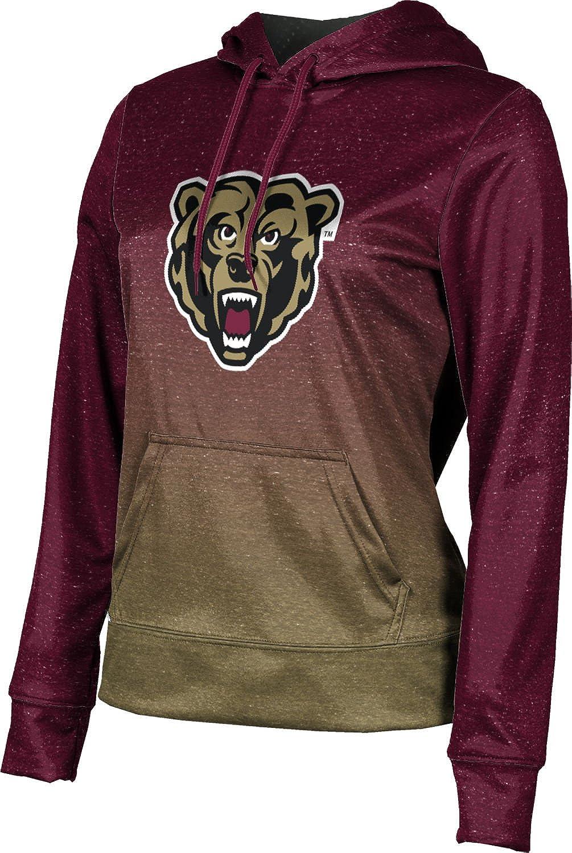 ProSphere Kutztown University Girls' Pullover Hoodie, School Spirit Sweatshirt (Ombre)