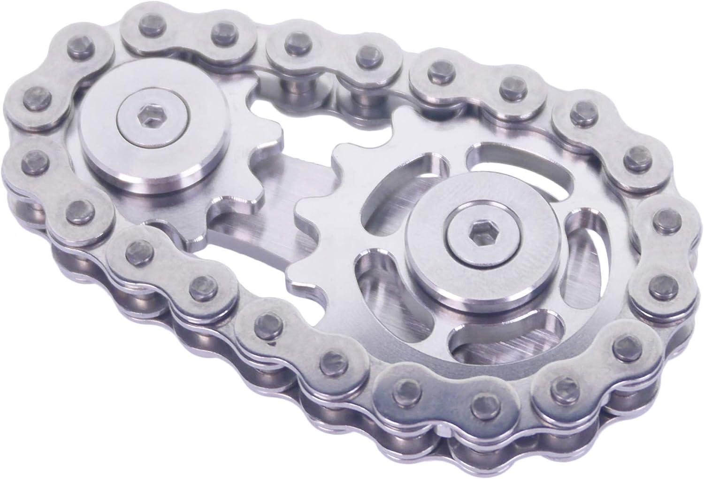 DMaos Fidget Spinner Linkage Bike Los 5 popular Angeles Mall Design 2 Chain Gears