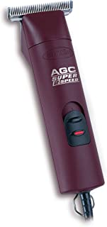 Andis ProClip 2-Speed Detachable Blade Clipper, Professional Animal Grooming, AGC2