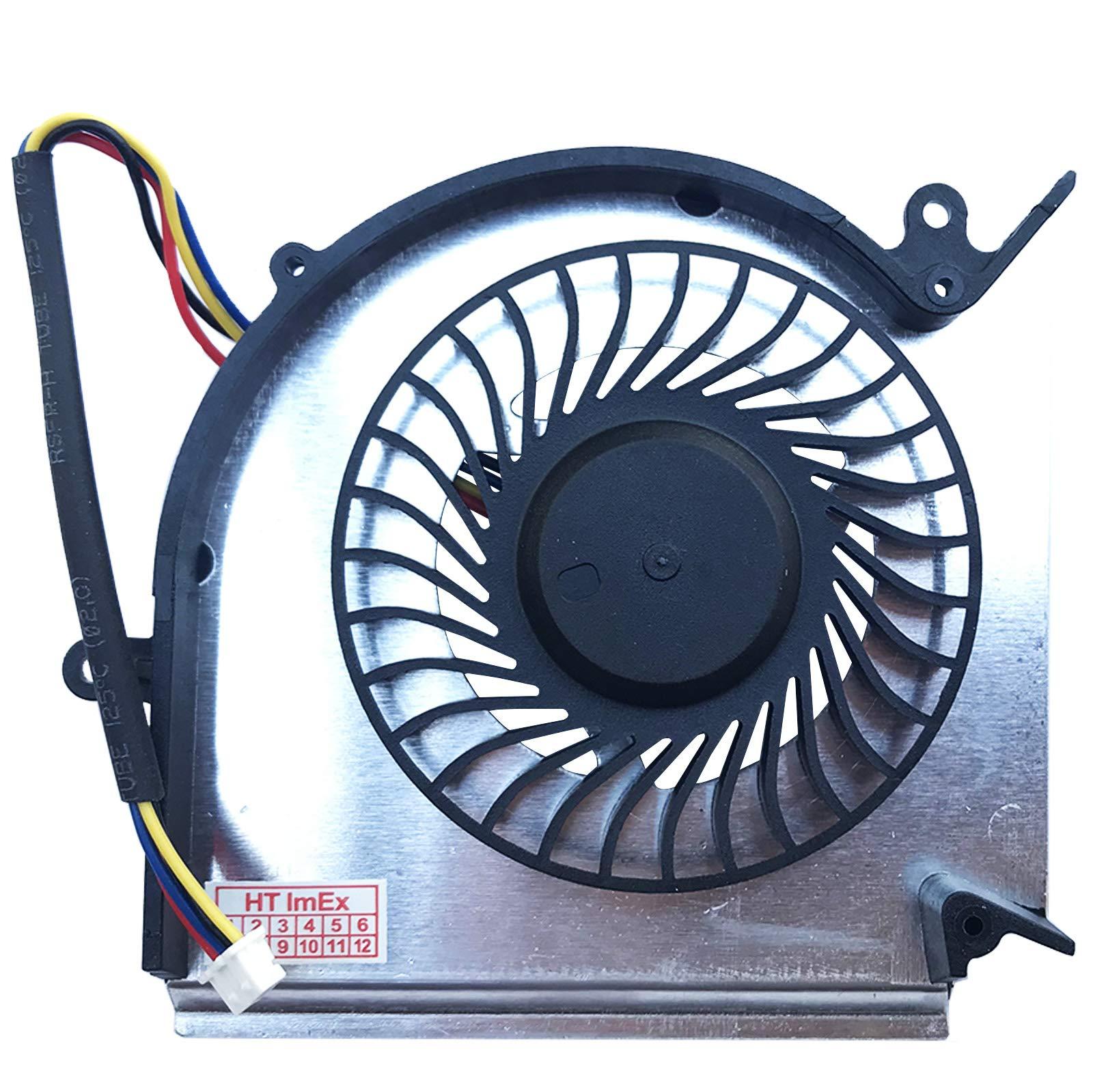 GPU Verison 2) Ventilador Compatible con MSI GE73VR 7RF (MS-17C1 ...