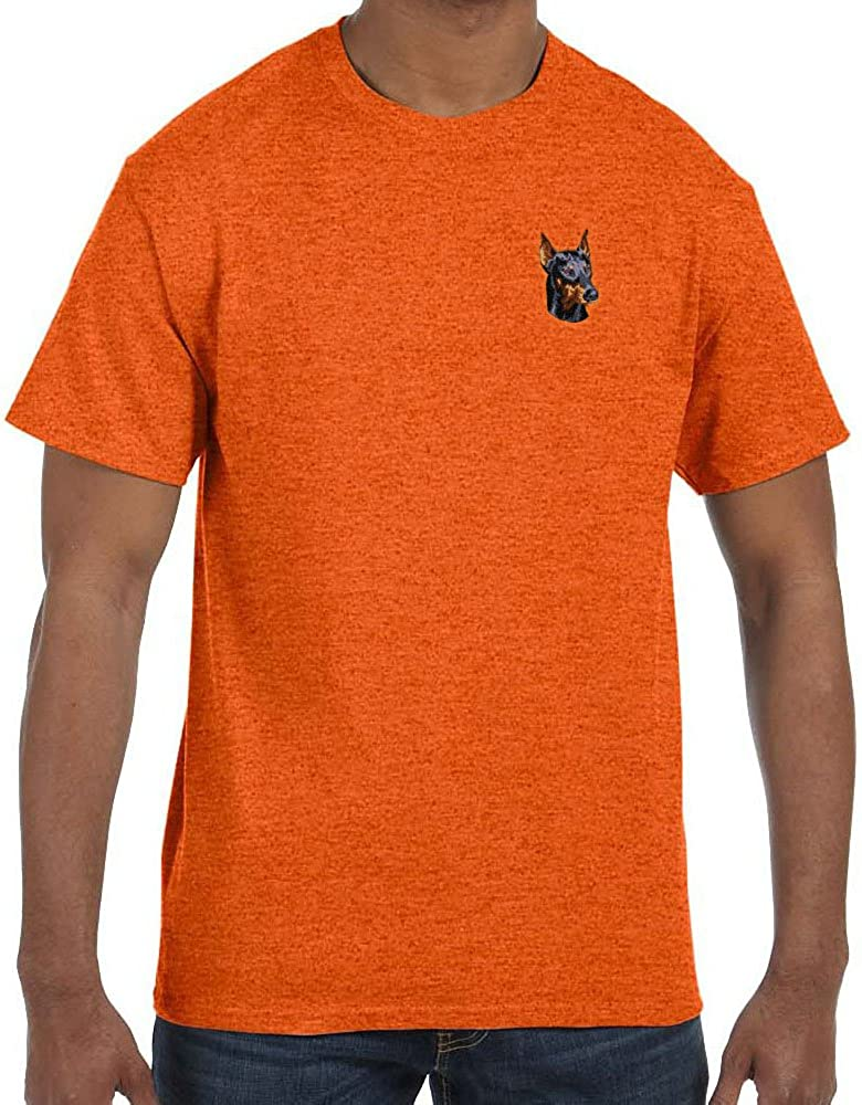 Cherrybrook Antique Orange Dog Breed Embroidered Mens T-Shirts (All Breeds)