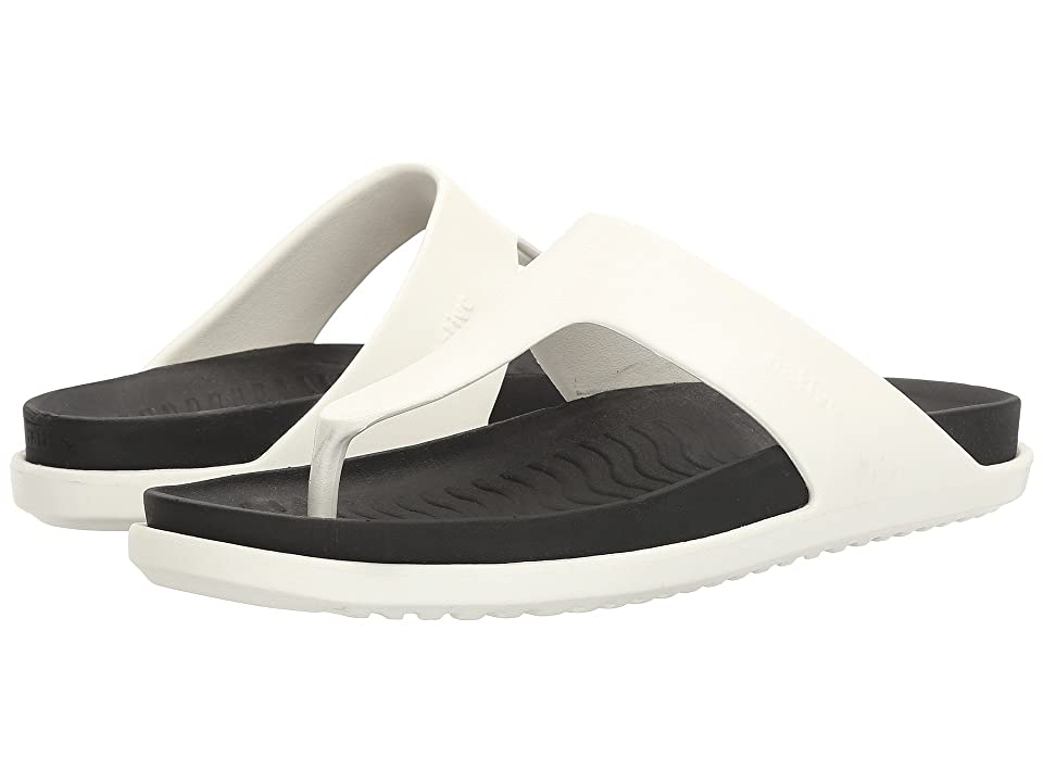 Native Shoes Turner LX (Shell White/Jiffy Black) Sandals