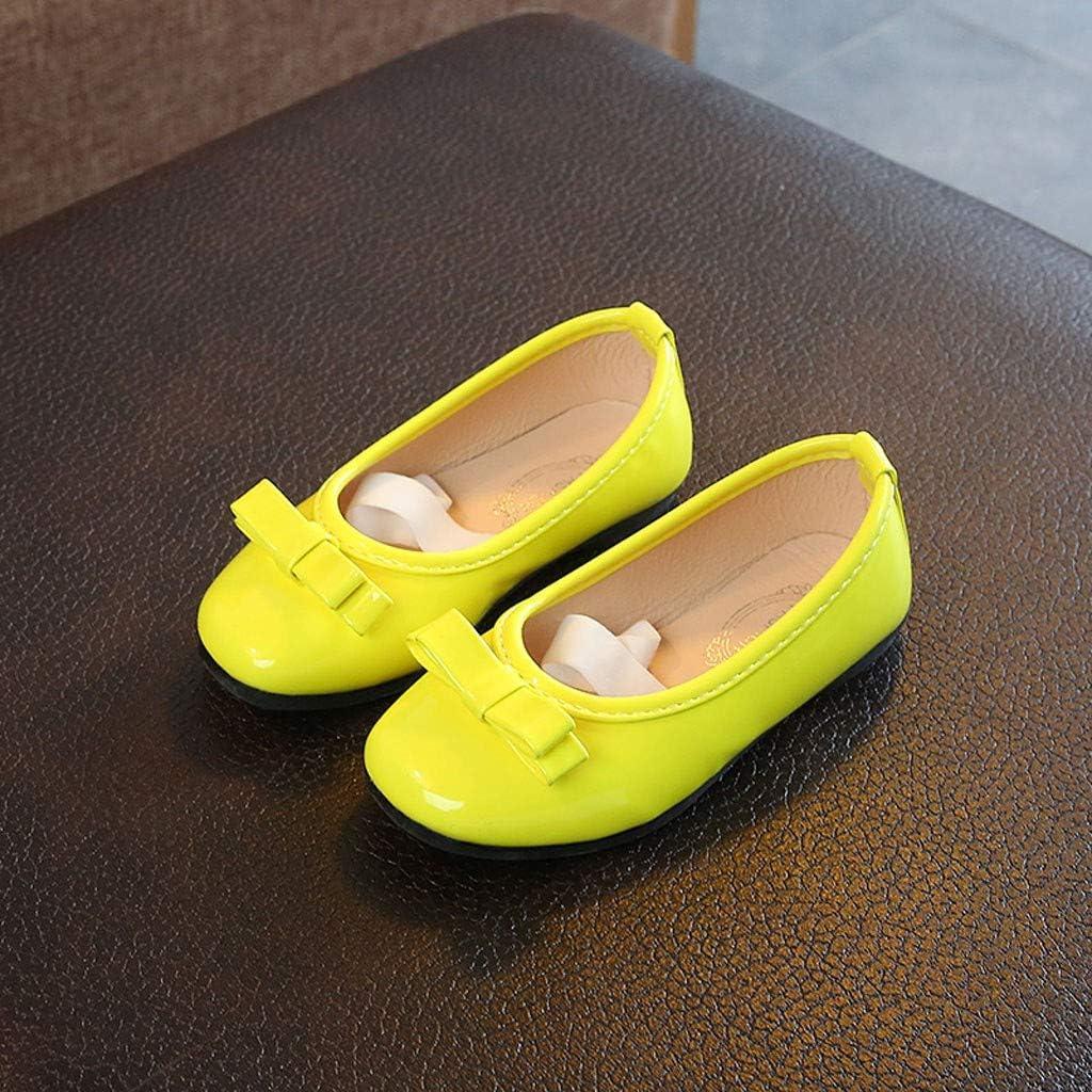21-36 Wascoo/_Enfant Princesse sandales filles couleur unie chaussures d/ét/é en cuir petites chaussures chaussures simples sandales chaussures de danse de l/école primaire