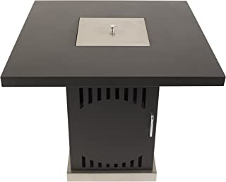 Pleasant Hearth OFG467T Halifax Gas Pit Propane Fire Table