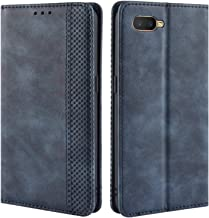 HualuBro for Oppo K1 / Oppo RX17 Neo/Oppo R15X Case, Retro PU Leather Wallet Flip Folio Shockproof Phone Case Cover with [...