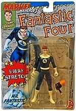 Toy Biz Marvel Super Heroes Fantastic Four Mr. Fantastic Action Figure 4.75 Inches