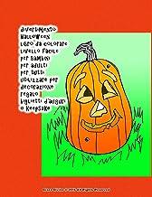 divertimento Halloween libro da colorare livello facile per bambini per adulti per tutti utilizzare per decorazione regalo...