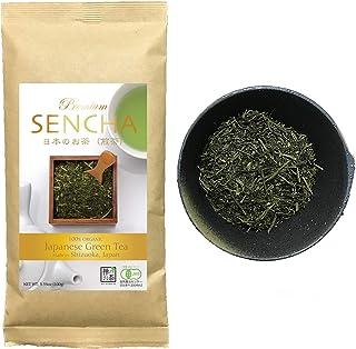 Zen no Ocha Sencha tea Premium - Japanese loose leaf Organic Green tea 3.53oz 100g (Made in Shizuoka Japan)
