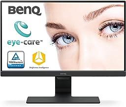 BenQ 22 -inch Slim Bezel LED Monitor-Full HD, VA Panel with VGA, Dual HDMI Ports, Eye Care Technology, TCO Certified - GW2280