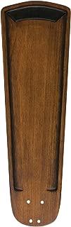 Emerson Ceiling Fans B91WA 25-Inch Art Deco Hand Carved Ceiling Fan Blades, Walnut, Indoor, Set of 5 Blades
