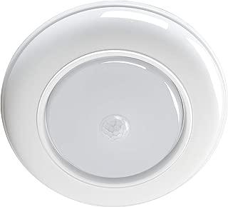WOOPHEN LED Night Light Wireless Battery Powered Motion Sensing Indoor LED Ceiling Light, 180 Lumens, White