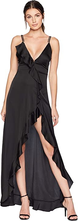 Isabella Ruffled Maxi Dress