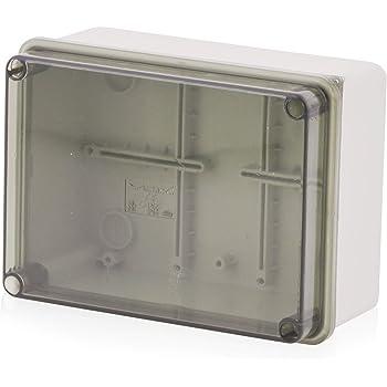 Carcasa de instalación de superficie, caja de conexiones Carcasa de plástico con tornillo | 150x110x70mm |