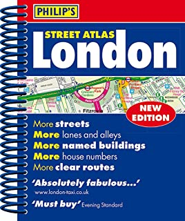 Philip's Street Atlas London: Mini Paperback Edition