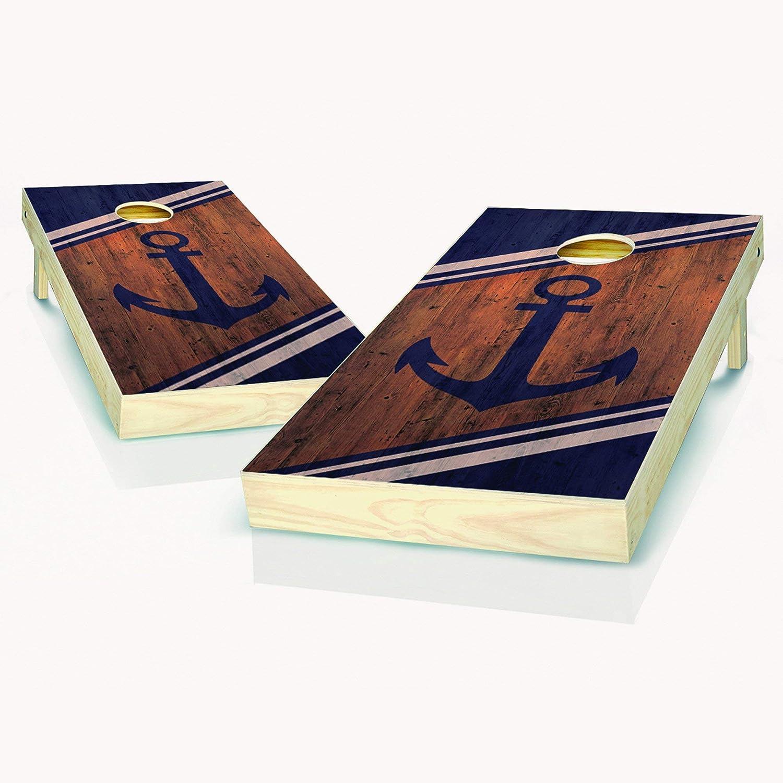 Anchor Cornhole Boards 2x4 Regulation In stock 2 - Includes Max 43% OFF Size Boa