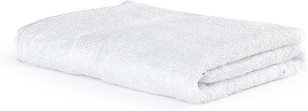 Turkish Bath Luxury Cotton 560 GSM Hotel Towel:White