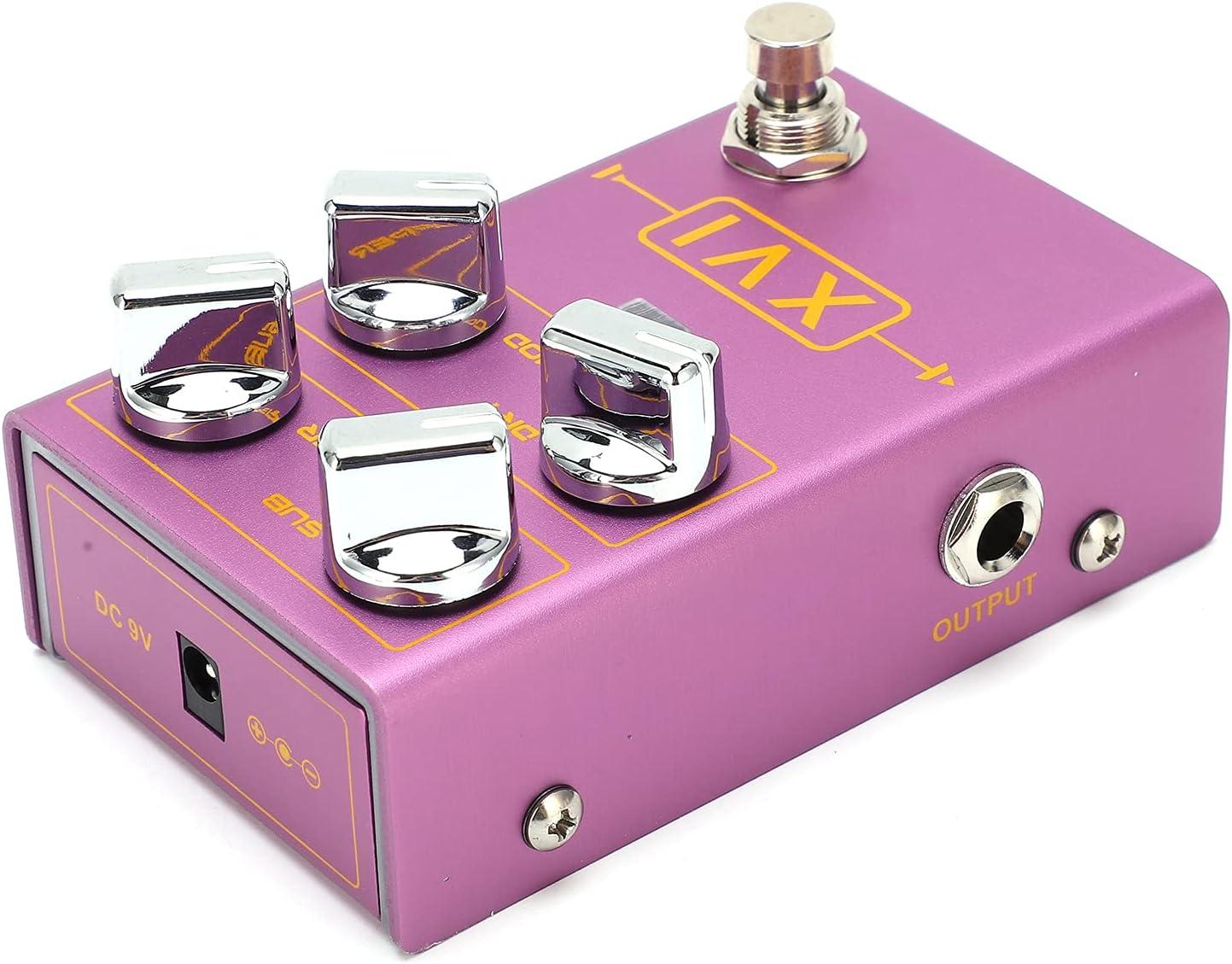 Donner Pedals, pedales de guitarra portátiles con efectos MOD para guitarra y bajo para principiantes