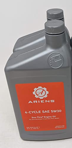 lowest Ariens 000676 SAE 5W-30 Sno-Thro Engine wholesale 2021 Oil Quart (2-Pack) online sale