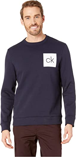 The Soft Touch Fleece Long Sleeve Crew Neck Printed Version