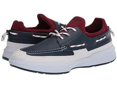 Lacoste Gennaker 120 2 (Navy/Dark Red) Men