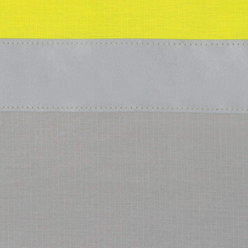 Red Kap Mens Hi-vis Ls Colorblock Ripstop Work Shirt Class 2 Shirt Type R