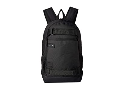 RVCA Curb Backpack (Black) Backpack Bags