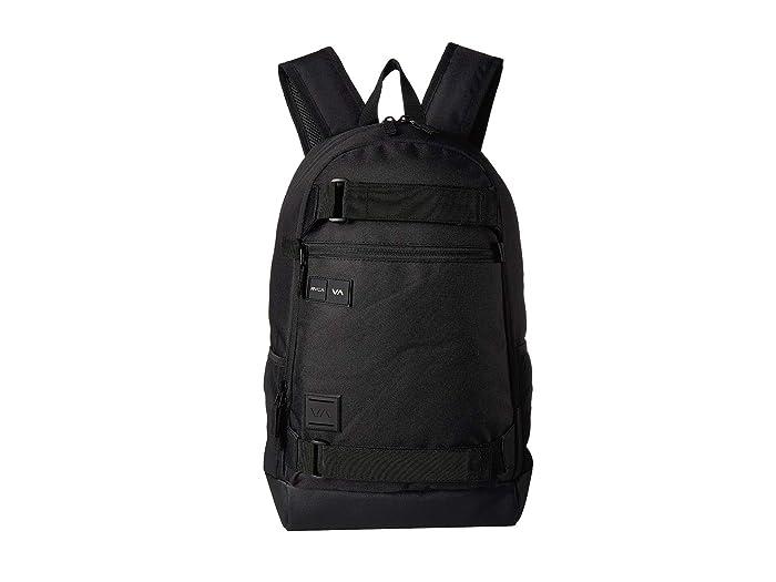 RVCA Curb Backpack (Black) Backpack Bags