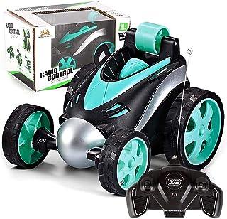 Heyean Remote Control Twister RC 360 Degree Rotating Stunt Electric Car Kids Toys Xmas Gift