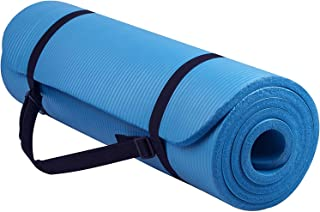 KTK Non-Slip Yoga Mat with Lanyard Knitted Friendly Fitness Exercise Mat Yoga and Gymnastic Training High Density Gym Floo...