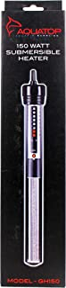 aquatop gh150 aquarium submersible glass heater 150 watt