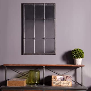 Metal Window Frame Wall Mirror