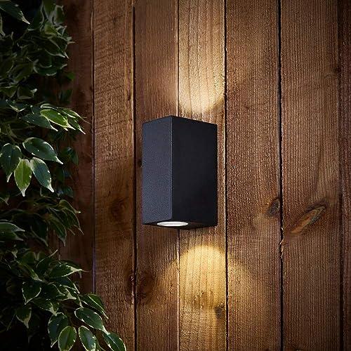 Lampada MURO LAMPADA ESTERNO TERRAZZO GIARDINO VIALETTO ip54 vetro illuminazione alluminio corte