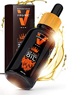 Natural Beard Oil for Men the Grooming Hair Growth Conditioner Care Treatment Organic Argan Jojoba Scent Man Oils Lucky Lotion Products a Revolution in Mens Beards Mustache Grow Before Brush and Comb