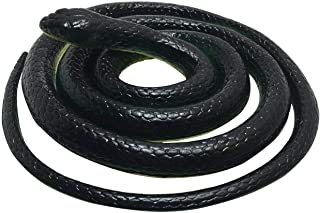 Rubber Lifelike Snakes Scary Gag Gift Incredible Creatures Chain Snakes 52 Rain Forest Snake Toys W