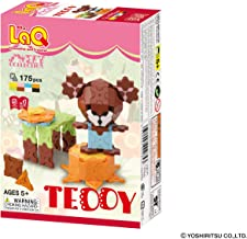 LaQ Sweet Collection TEDDY - 5 Models, 175 Pieces - Creative Construction Toy