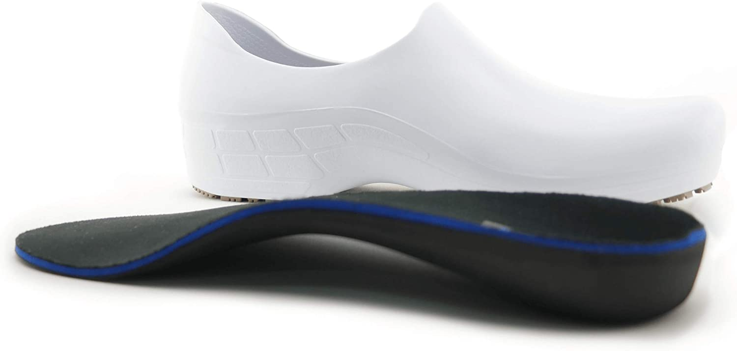 Waterproof Slip Resistant Pro Shoes Sticky Comfortable Work Shoes for Women Arch Support Version
