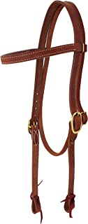 Amish USA Horse Tack Hermann Oak Leather Draft Headstall 975H1011