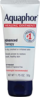 Aquaphor Healing Ointment - Protectant for Dry Cracked Skin - 1.75 oz. Tube