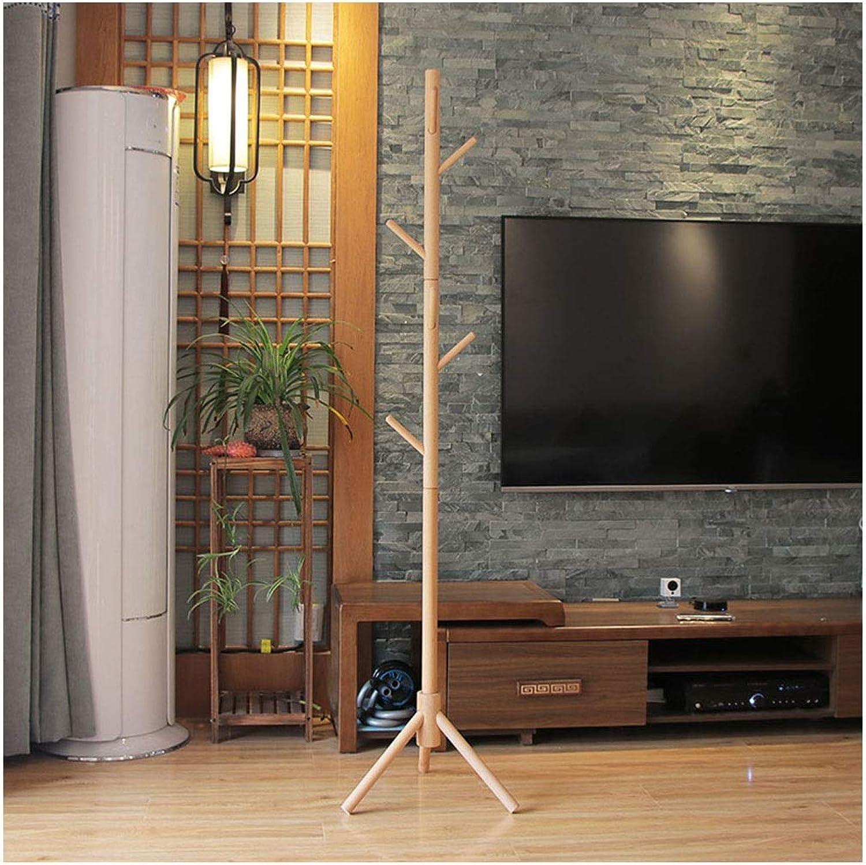 Solid Wood 175 cm (5.74 Ft) Floor Hanger - Modern Minimalist greenical Coat Rack - Simple Multi-Purpose Hanger - Garden Floor Hanger