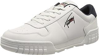 Tommy Jeans Herren Retro Leather Cupsole TJM Sneaker