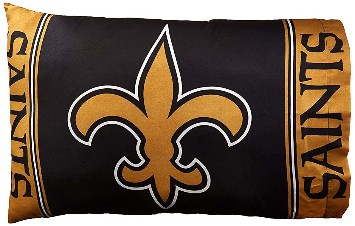 The Northwest Company Officially Licensed NFL New Orleans Saints 2-Piece Pillowcase