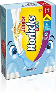 Junior Horlicks Stage 1 (2-3 years) Health & Nutrition drink - 500 g Refill pack (Original flavor)