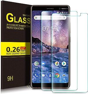 لاصقة حماية شاشة زجاج مقوى من كوجي لموبايل نوكيا 7 بلس - شفاف
