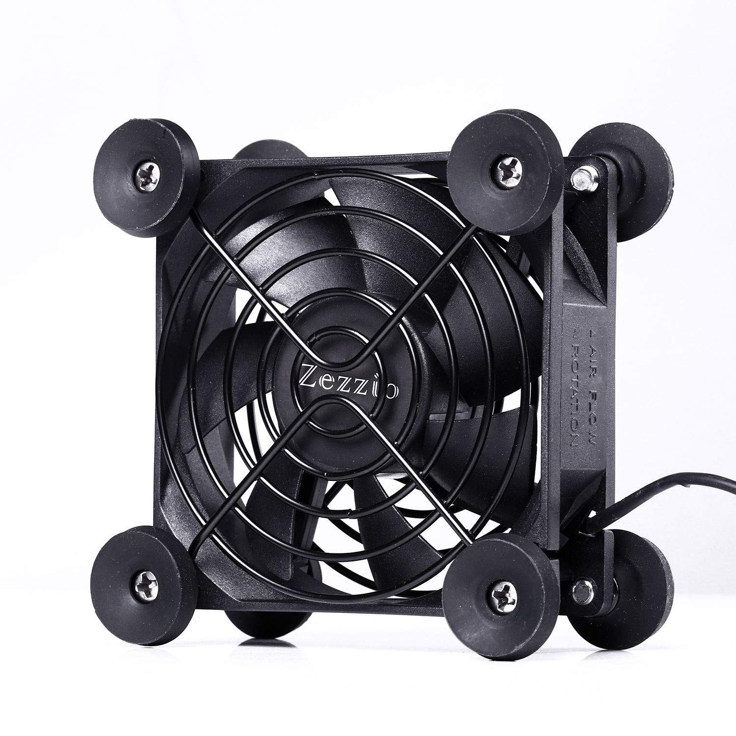 80mm USB Cooling Fan for AV Receiver DVR Playstation/TV Box/Game Console