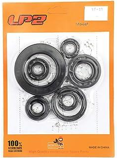 Bruce & Shark Engine Oil Seal Kit Set 8pcs Seals for Honda CR250R CR250 CR 250 250R 1992-2001