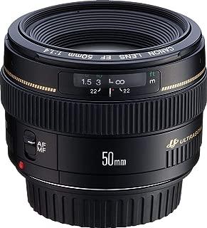 Canon EF 50mm f/1.4 USM Standard & Medium Telephoto Lens for Canon SLR Cameras - Fixed