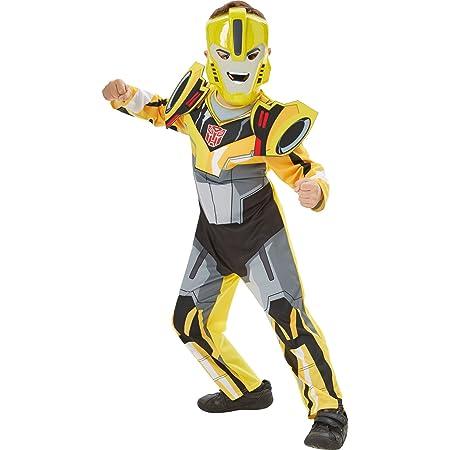Bumblebee Transformer Boys Fancy Dress Robot Beetle Movie Kids Superhero Costume