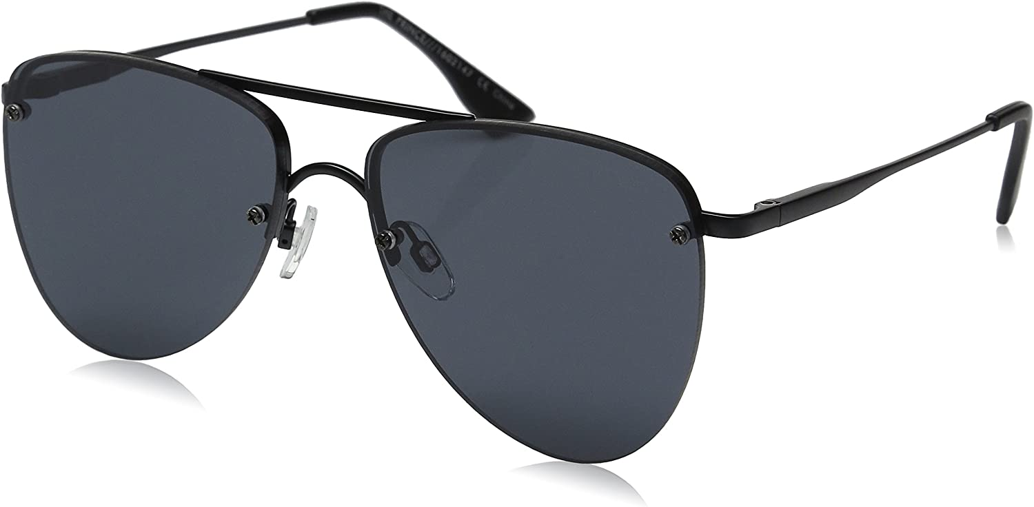 Le Specs The Prince Matte Sunglasses One Size Black