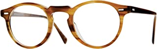 5186 Men's Gregory Peck Raintree Oval 45mm Eyeglasses